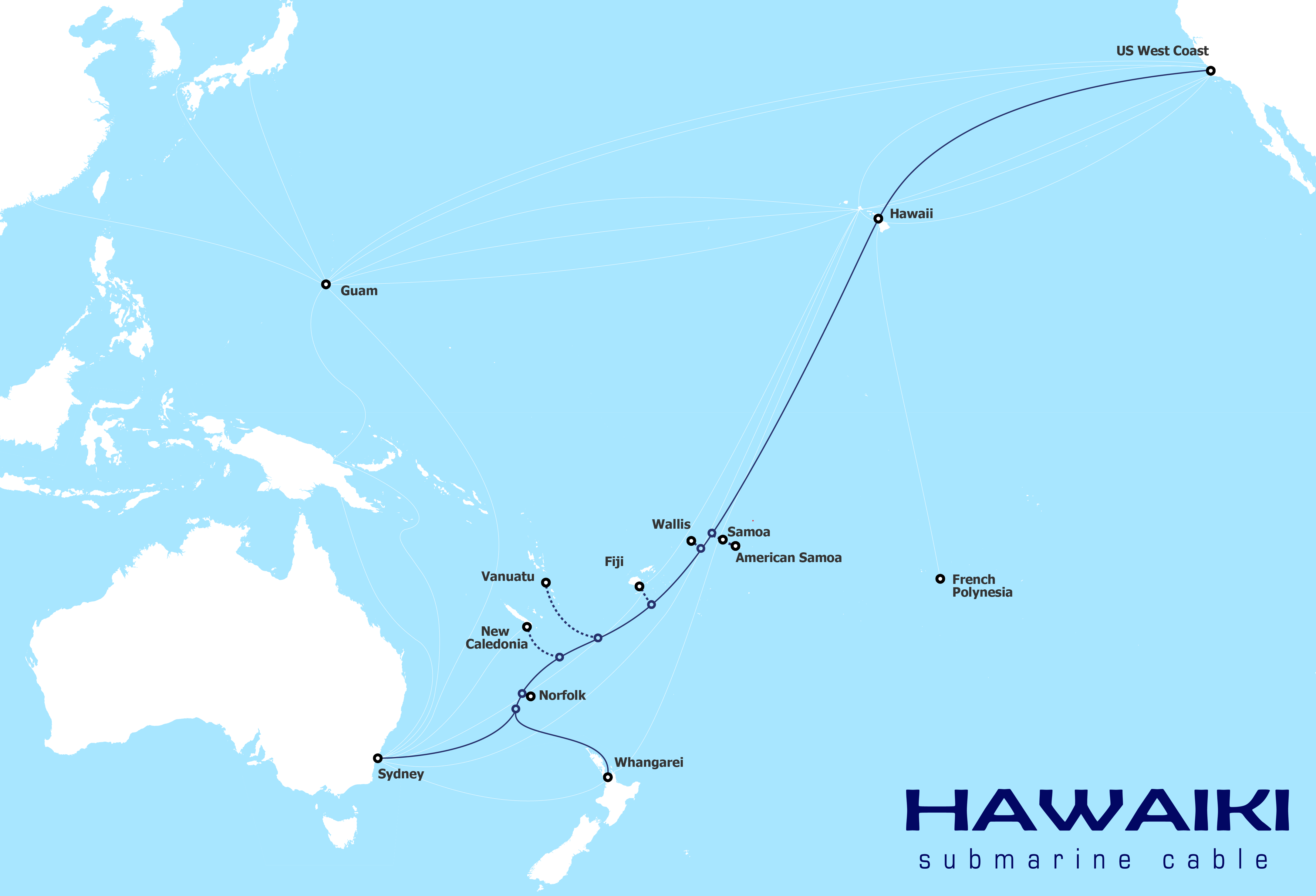 New Cable Boosts Islands Connectivity Asia Pacific