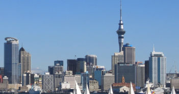 Auckland with yachts