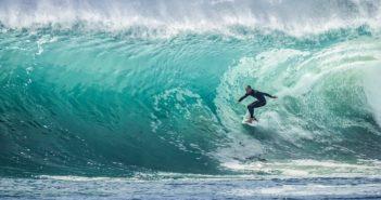 Surf Surfing Surfer Sea Sport Ocean Water Wave
