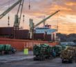 Eastland Port in twilight
