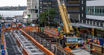 City Rail Link's 'big dig' starts