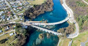 Kawerau Falls Bridge development © NZTA