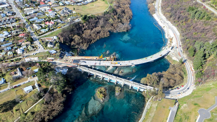 Kawarau Falls Bridge development © NZTA