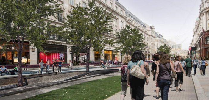 Walkable London: Zaha Hadid Architects Proposes Pedestrianising London