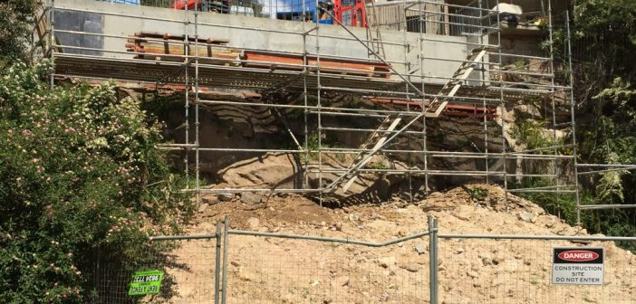 Risks and remedies for collapsing retaining walls