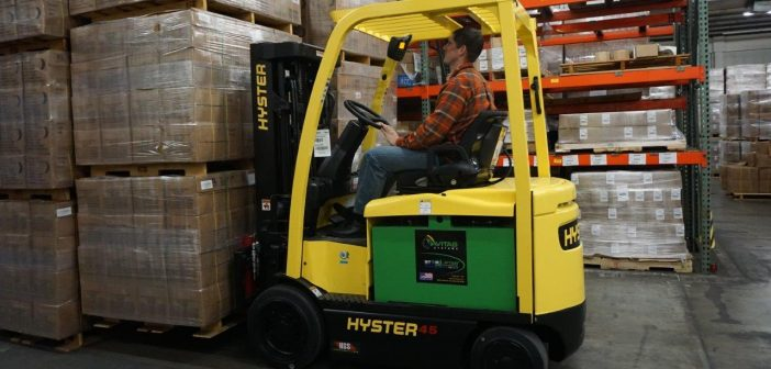 Hydrogen-powered clean, green and efficient forklifts debut
