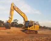 Contractor gets benefit of automated Komatsu excavator