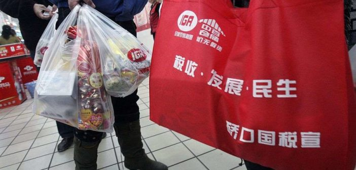 China to ban plastic bags