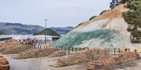 How contractor stabilised port's hazardous rock face