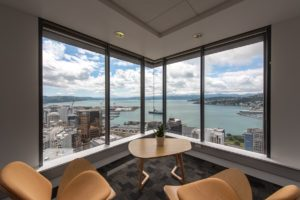 Views from Wellington Regus Plimmer Tower